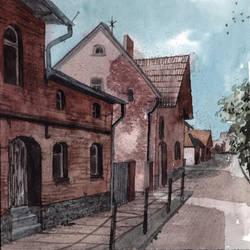 Strasse in Boitzenburg by Laurlolz