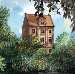 House near Nelly-Sachs Park by Laurlolz