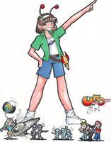 UFO Girl by zaionczyk