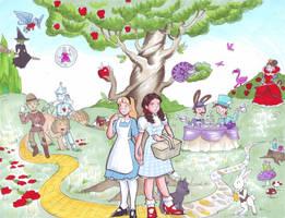 Wonderland/Oz exchange program by zaionczyk