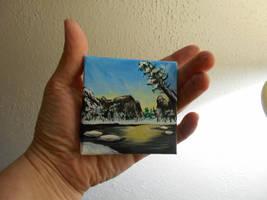 Pocket Painting - Winter by zaionczyk