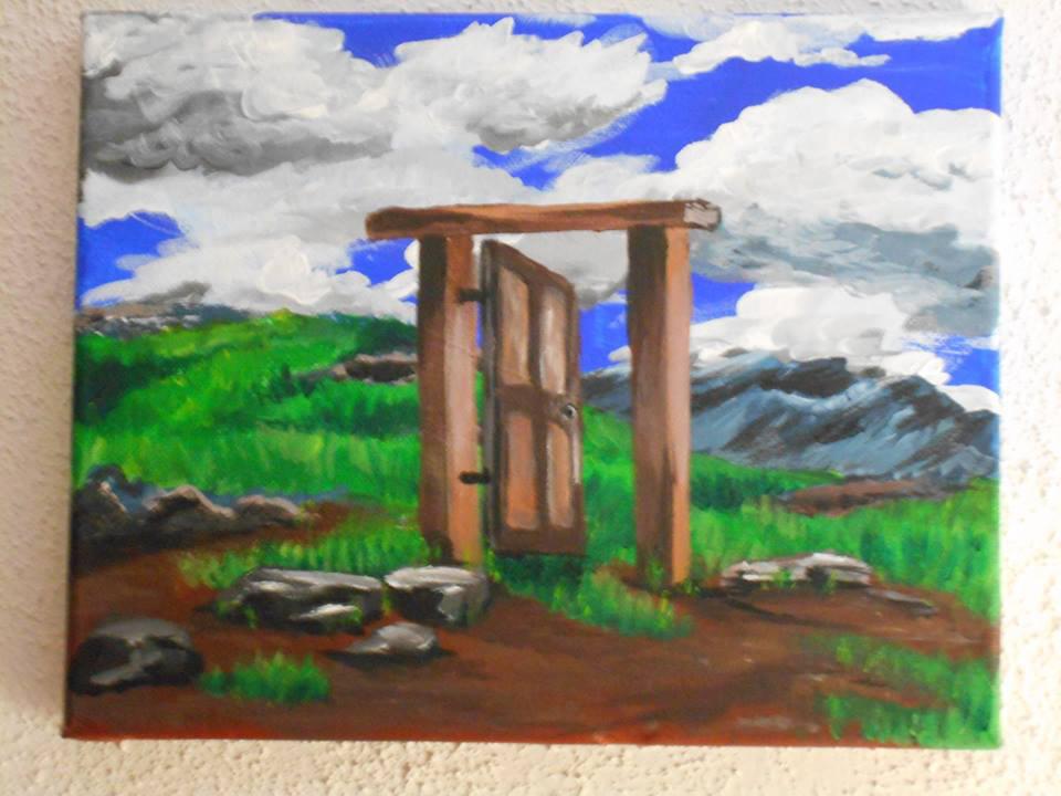Door to nowhere by zaionczyk