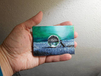 Pocket Painting - Ant by zaionczyk