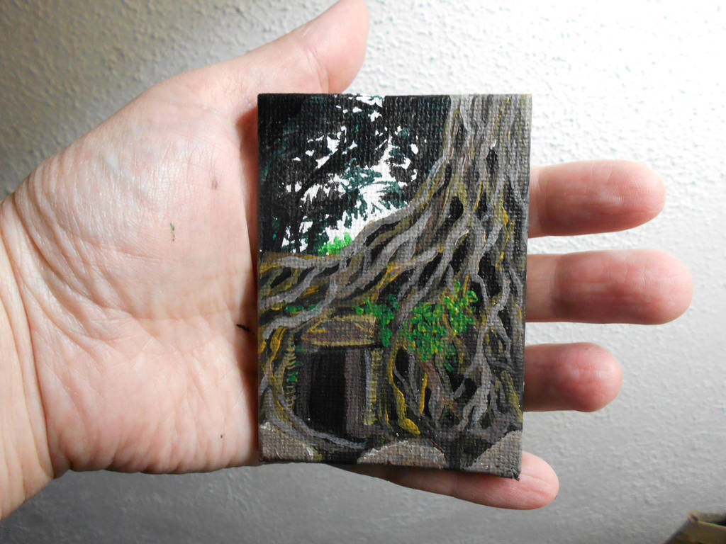Pocket Painting - Roots by zaionczyk