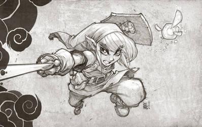Zelda Fan Art by JoeMadx