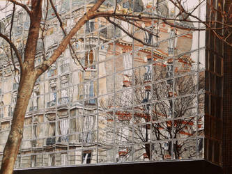 Un Grand Ecran, rue du Chemin Vert, Paris 11. by BoreIvanoff