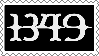 1349 Stamp by CyanideAssassin