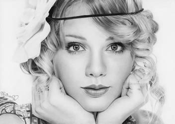 Taylor Swift by Rajacenna