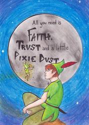Gift: Peter Pan  by Little-Deery