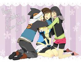 Happy birthday Onee-chaannn by danzzila