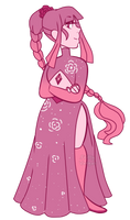 Pink Diamond (for maddygirl13) by Points-for-Fritty