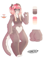 Anthro Feline Opta/Auction CLOSED by Points-for-Fritty