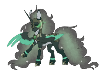 Decay Alicorn Adopt AUCTION (CLOSED) by Points-for-Fritty