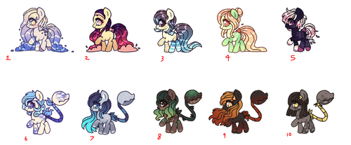 Plant Pony+Waterfaller Adopts by Points-for-Fritty