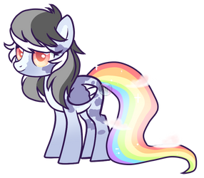 AUCTION! color wheel pony adopt by Points-for-Fritty
