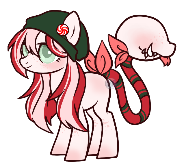 Peppermint plant pony auction! (CLOSED) by Points-for-Fritty