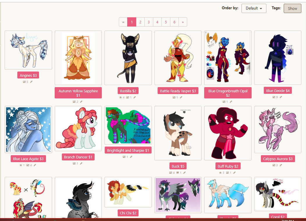 OCS FOR SALE (paypal only) by Points-for-Fritty