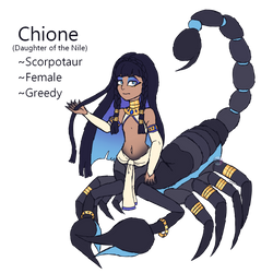 Scorpion Girl by Points-for-Fritty