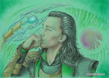 Loki by whiteshaix