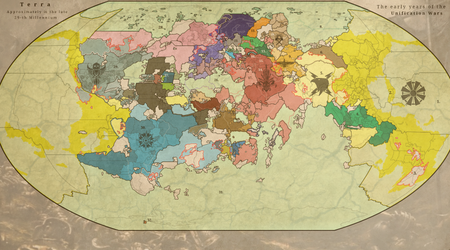 The Unification Wars (Warhammer 40k) by Vanga-Vangog