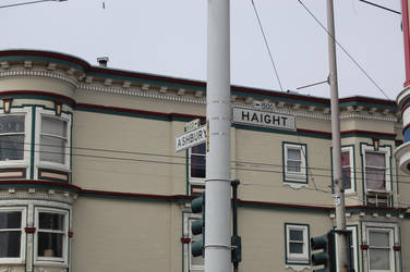 Haight and Ashbury, Birth place of the Dead by mcjewfr0