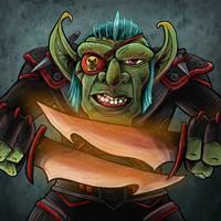 Prevenge - Goblin Rogue by Blamrob