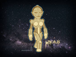 Metropolis The Machine Man by Blamrob