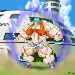 Bulma power up by MATL