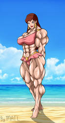 Giganta at the Beach by MATL