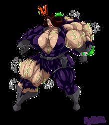 Commission - Talia al Ghul on Venom by MATL
