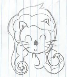 Kitty cat #3 by Veushei