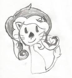 Kitty cat #2 by Veushei