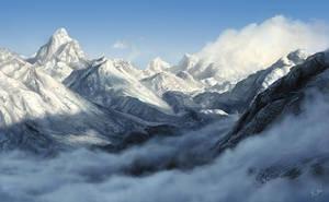 Himalayas by Keitaro333