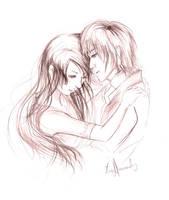 Bella and Edward by AiFool