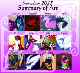 Summary Of Art ~2018 by Seeraphine