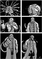 Hellboy/Alien Page 4 by TheTrueBishop