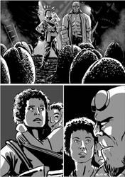 Hellboy/Alien page 10 by TheTrueBishop