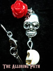 Day of the Dead Chocker Necklace by TheAlluringPath