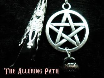 Dawn of the Universe Black Pentacle Pendulum by TheAlluringPath