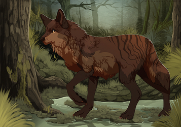 Forest Stroll by MapleSpyder