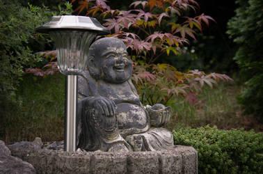 Garden Buddha by napoca