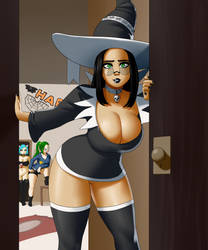 Halloween 2018 by SyntheticPotato