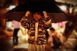 Umbrella Boy by FWStupidio