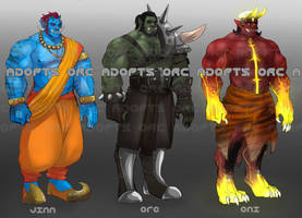ORC/MONSTER adopts round 2[Closed] by Benzy