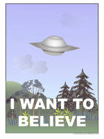 i want to believe by Lizeeeee