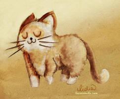 happy cat by Lizeeeee