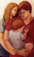 Castle, Beckett and a Baby IV by Lizeeeee