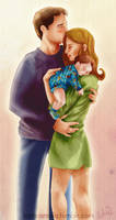 Castle, Beckett and a Baby V by Lizeeeee