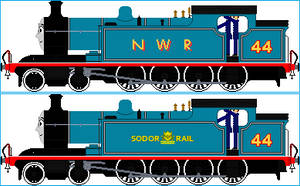 Nellie The LNER T1 by Galaxy-Afro