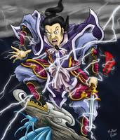 Samurai God of Thunder by mateuspaiao